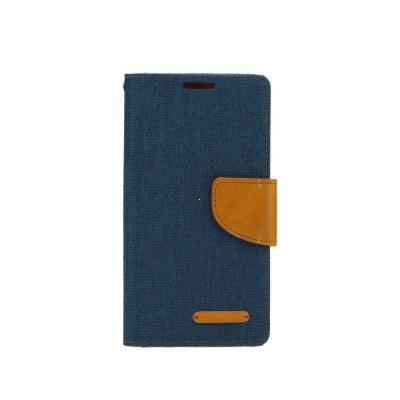 Pouzdro CANVAS Fancy Diary Samsung A750 Galaxy A7 (2018) barva navy blue