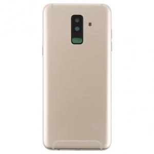 Samsung A605 Galaxy A6 PLUS kryt baterie + boční tlačítka + flexy + sklíčko kamery - barva Gold