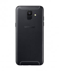 Samsung A600 Galaxy A6 (2018) kryt baterie + boční tlačítka + flexy + sklíčko kamery - barva Black
