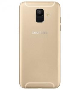 Samsung A600 Galaxy A6 (2018) kryt baterie + boční tlačítka + flexy + sklíčko kamery - barva Gold