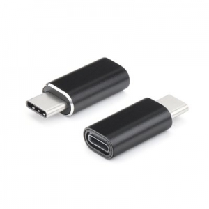 Redukce iPhone Lightning / USB Typ C barva černá