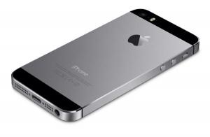 Kryt baterie + střední iPhone 5S originál barva black