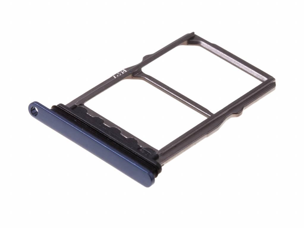 Držák (šuplík) SIM Huawei MATE 20  modrá