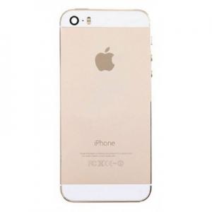 Kryt baterie + střední iPhone 5S originál barva gold