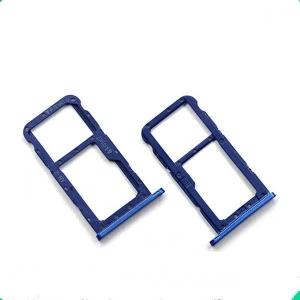 Držák (šuplík) SIM Huawei P20 LITE modrá
