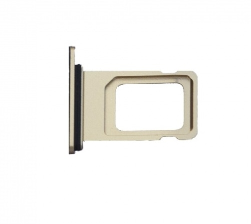 Šuplík SIM iPhone XR (6,1) zlatá