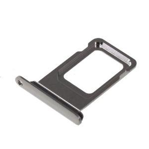 Šuplík SIM iPhone XS MAX (6,5) black / grey