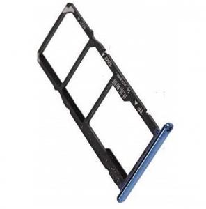 Držák (šuplík) SIM Huawei Y6 PRIME (2018) modrá
