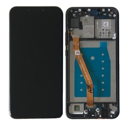 Dotyková deska Huawei NOVA 3i (P Smart plus) + LCD s rámečkem černá