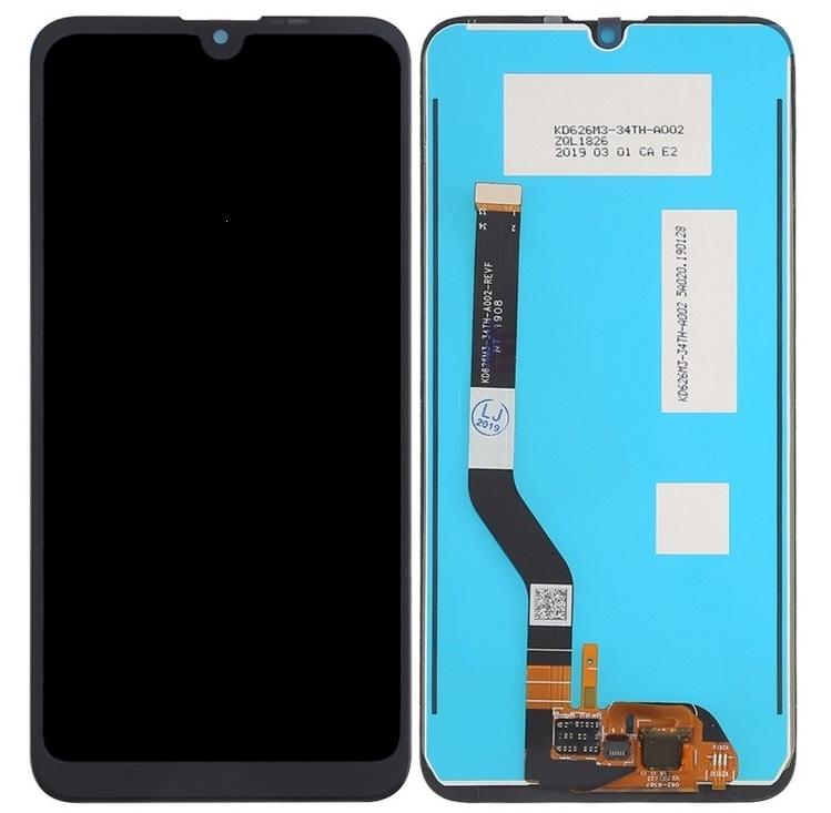 Dotyková deska Huawei Y7 (2019) + LCD černá (verze 1.11 - 11 pin)