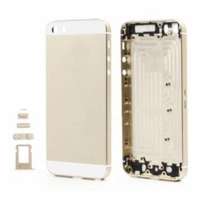Kryt baterie + střední iPhone 5 originál barva gold