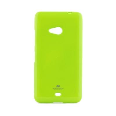 Pouzdro MERCURY Jelly Case Huawei Y7 (2019) limetka
