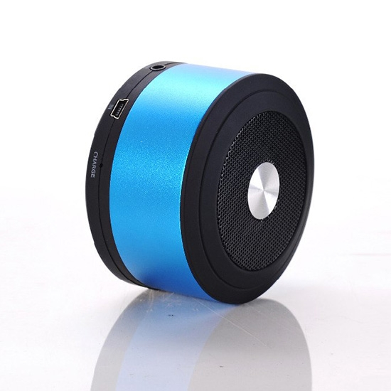 Mini reproduktor BlueTooth VENNUS N8 barva modrá