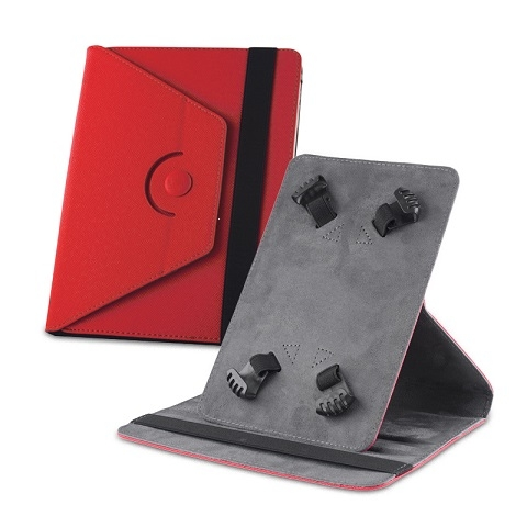 """Pouzdro na tablet 10"""" Orbi rotable 360, barva červená"""