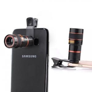 Teleskopický zoom (zoom objektivu x 8) pro mobilní telefon