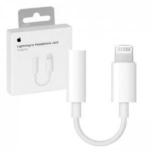 Adapter APPLE iPhone MMX62ZM/A Jack 3,5mm / lightning (blistr)