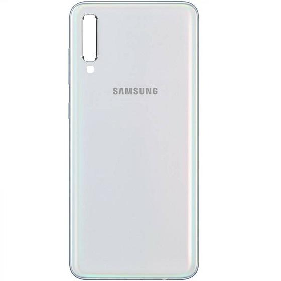 Samsung A705 Galaxy A70 kryt baterie + lepítka bílá
