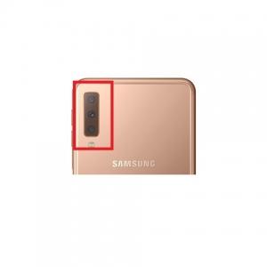Sklíčko zadní kamery Samsung A750 Galaxy A7 (2018) zlatá