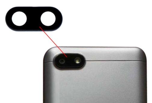 Sklíčko zadní kamery Xiaomi Redmi 6