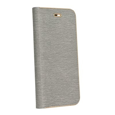 Pouzdro LUNA Book Huawei P Smart (2019), barva šedá