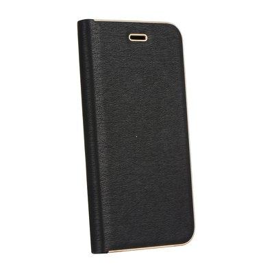 Pouzdro LUNA Book Huawei Y6 (2019), Y6 PRO (2019), barva černá