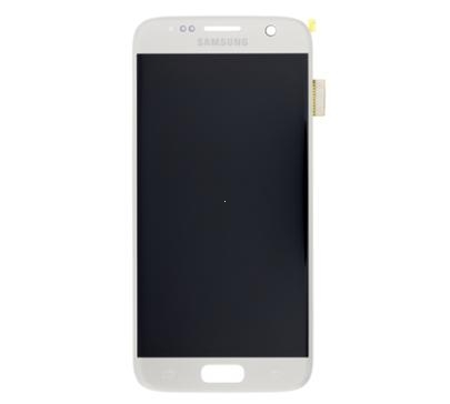 Dotyková deska Samsung G930 Galaxy S7 + LCD silver Service Pack - originál