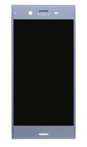 Dotyková deska Sony Xperia XZ1 F8341, F8342 + LCD modrá