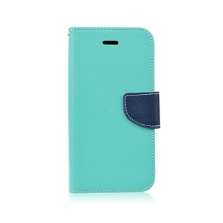 Pouzdro FANCY Diary TelOne Huawei P30 Lite barva světle modrá/modrá