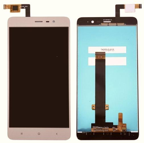 Dotyková deska Xiaomi Redmi NOTE 3 + LCD zlatá (147mm)