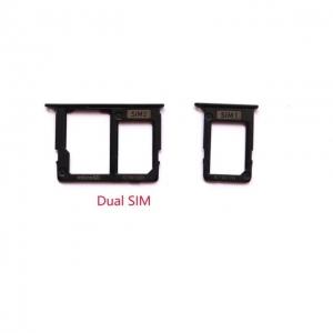Držák (šuplík) SIM Samsung J610 Galaxy J6 PLUS black