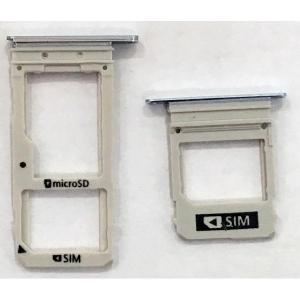 Držák (šuplík) SIM Samsung A530 Galaxy A8 (2018) grey / silver
