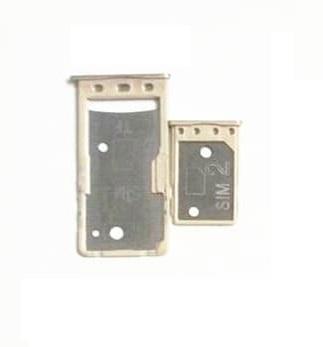 Držák (šuplík) SIM Xiaomi Redmi 5A gold