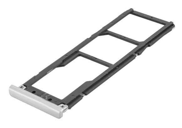 Držák (šuplík) SIM Xiaomi Redmi NOTE 5A grey / silver