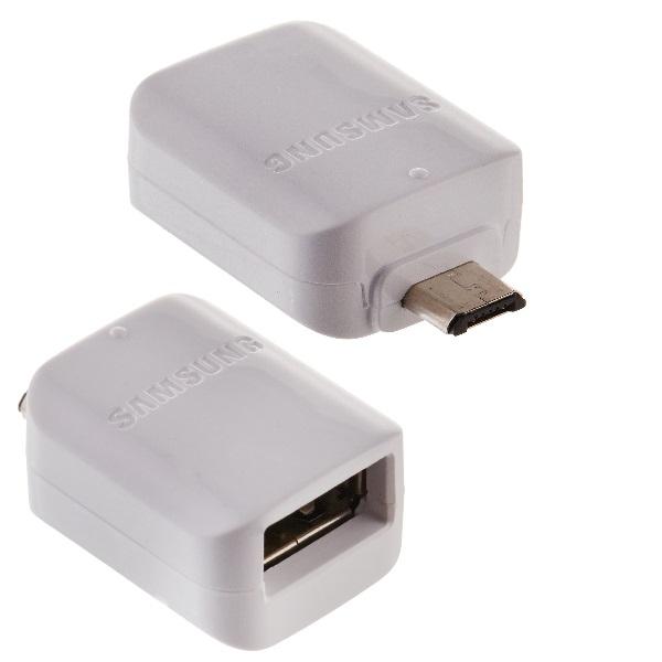 Adapter Samsung GH96-09728A OTG USB / micro USB (bulk) originál barva bílá