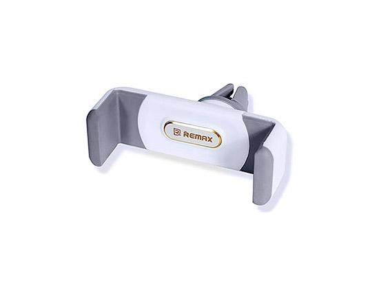 Držák do auta Remax RM-C01, do mřížky ventilátoru, barva bílá/šedá