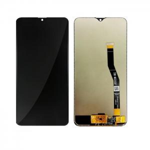 Dotyková deska Samsung M205 Galaxy M20 + LCD + rámeček black Service Pack - originál
