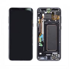 Dotyková deska Samsung G955 Galaxy S8 PLUS + LCD black Service Pack - originál