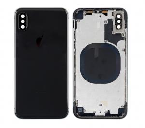 Kryt baterie + střední iPhone X (5,8) originál barva černá