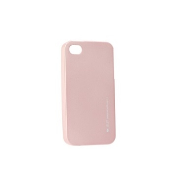 Pouzdro MERCURY i-Jelly Case METAL Huawei Y7 (2019) rose gold