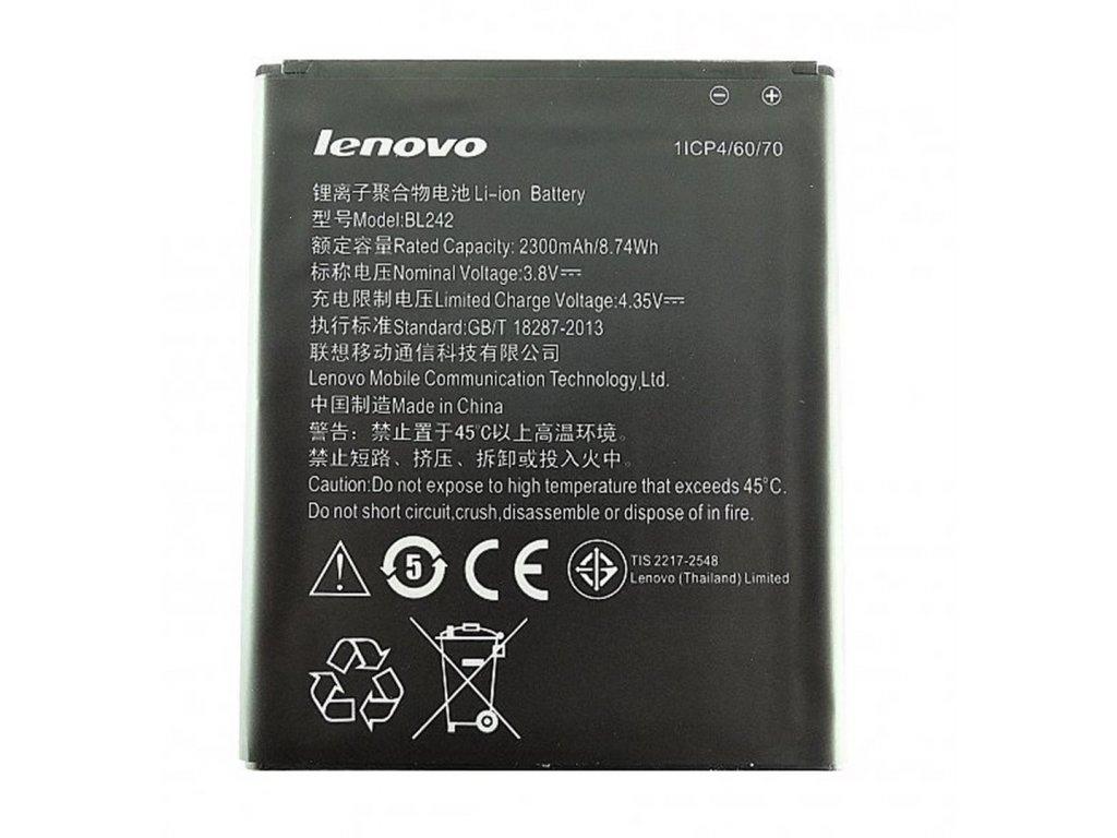 Baterie Lenovo BL242 2300mAh Li-ion (Bulk) - A6000
