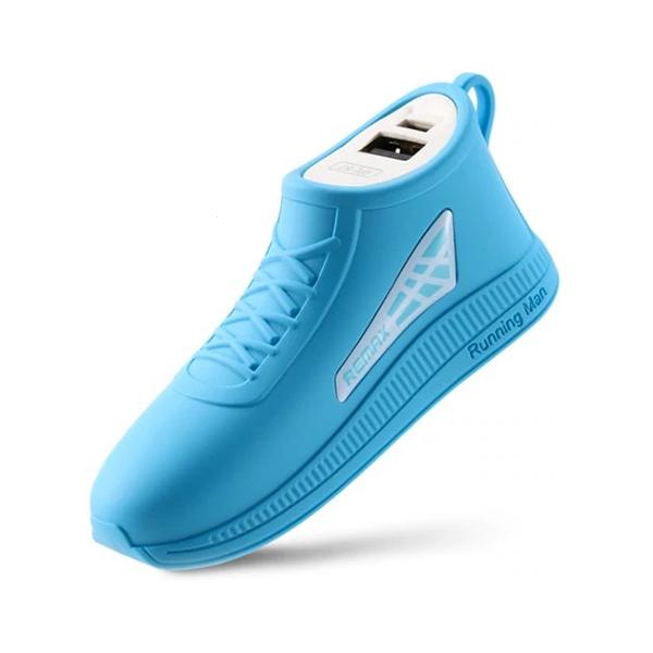 Externí baterie POWER BANK REMAX Running Shoe RPL-57, 2.500mAh modrá