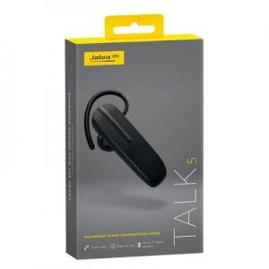 Bluetooth headset JABRA Talk 5 barva černá