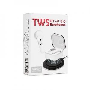 Bluetooth headset TWS EP-002 barva bílá