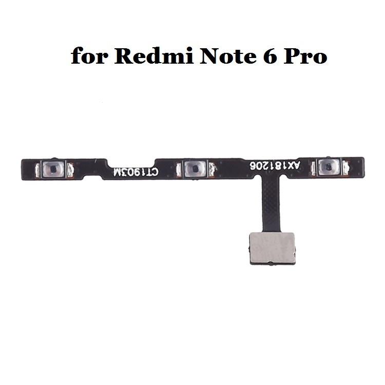 Xiaomi Redmi NOTE 6 PRO flex pásek ON/OFF + volume