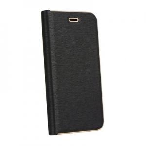 "Pouzdro LUNA Book iPhone 11 (6,1""), barva černá carbon"