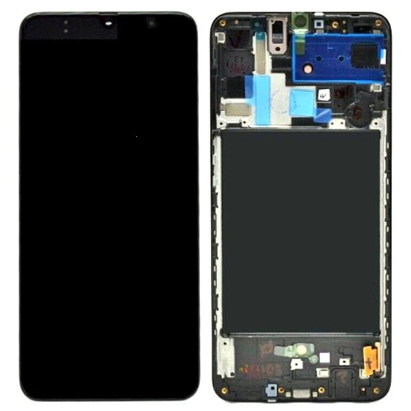 Dotyková deska Samsung A805 Galaxy A80 + LCD black Service Pack - originál