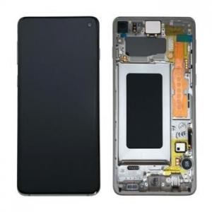 Dotyková deska Samsung G973 Galaxy S10 + LCD black Service Pack - originál