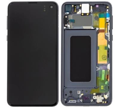 Dotyková deska Samsung G970 Galaxy S10e + LCD black Service Pack - originál