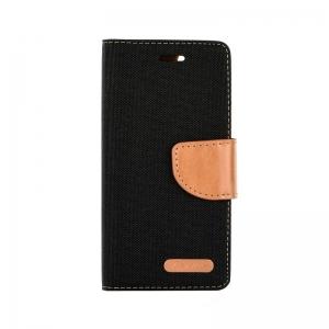 """Pouzdro CANVAS Fancy Diary iPhone 11 Pro (5,8"""") černá"""