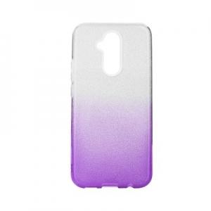 Pouzdro Back Case Shining Samsung A105 Galaxy A10, barva fialová